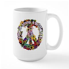 Peace Love Twilight by Twibaby Mug