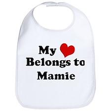 My Heart: Mamie Bib