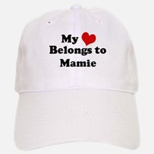 My Heart: Mamie Baseball Baseball Cap