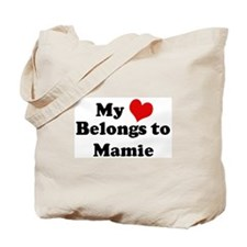 My Heart: Mamie Tote Bag