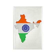 """Pixel India"" Rectangle Magnet"