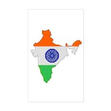 """Pixel India"" Rectangle Decal"