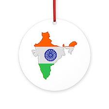 """Pixel India"" Ornament (Round)"