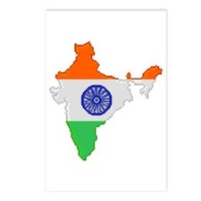 """""""Pixel India"""" Postcards (Package of 8)"""