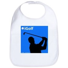 Official Blue iGolf Bib