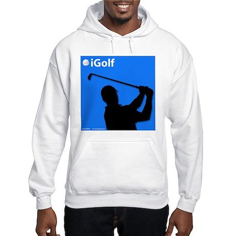 Official Blue iGolf Hooded Sweatshirt