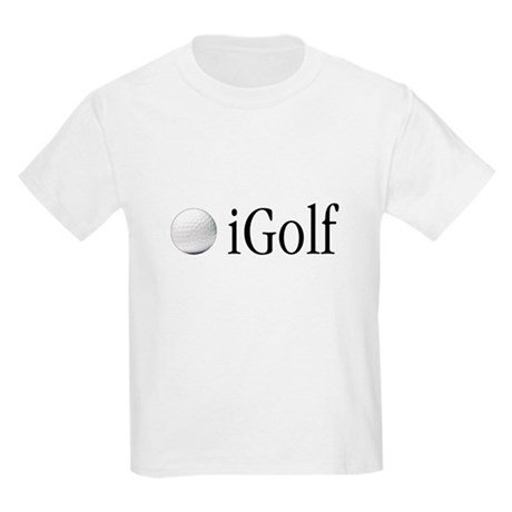 Official Blue iGolf Kids T-Shirt