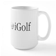 Official Blue iGolf Mug