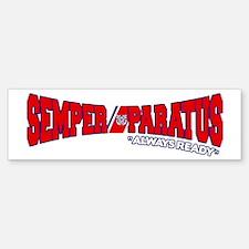 Semper Paratus (Ver 2) Sticker (Bumper)