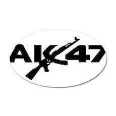 AK 47 Wall Decal