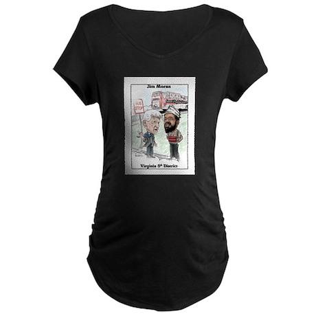 """Anti-Semitic 2"" Maternity Dark T-Shirt"