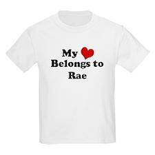 My Heart: Rae Kids T-Shirt