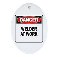 Welder Ornament (Oval)