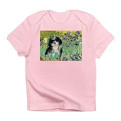 Irises / Shih Tzu #12 Infant T-Shirt