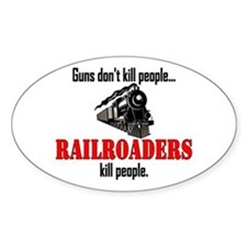 Railroaders Kill Decal