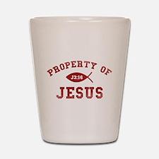 Property of Jesus Shot Glass