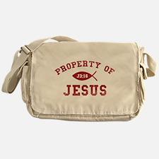 Property of Jesus Messenger Bag
