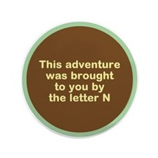 "Narcolepsy Adventure 3.5"" Button"