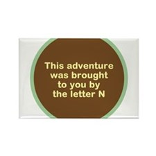 Narcolepsy Adventure Rectangle Magnet