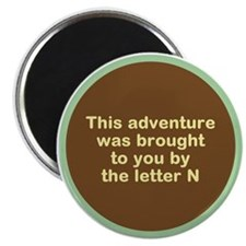 """Narcolepsy Adventure 2.25"""" Magnet (10 pack)"""