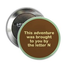 "Narcolepsy Adventure 2.25"" Button"