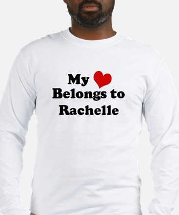 My Heart: Rachelle Long Sleeve T-Shirt