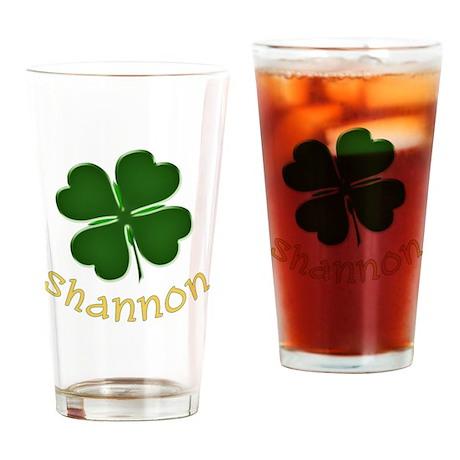Shannon Irish Drinking Glass