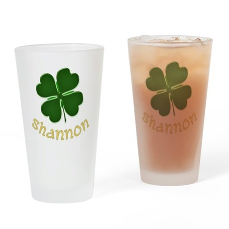 Shannon Irish Drinking Glass