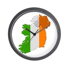 """Pixel Ireland"" Wall Clock"