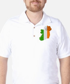 """Pixel Ireland"" Golf Shirt"