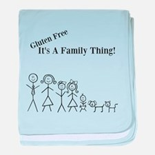Gluten Free Family Thing baby blanket
