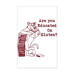 Stop The Gluten Posters
