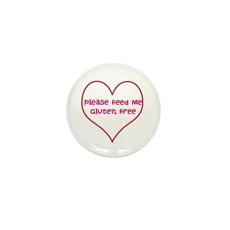 Please Feed Me Gluten Free Mini Button (10 pack)