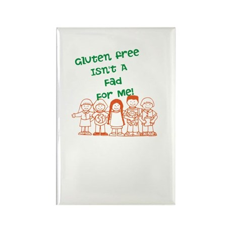 Gluten Free Isn't A Fad Rectangle Magnet (10 pack)