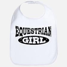 Equestrian Girl Bib