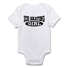 Ice Skating Girl Infant Bodysuit