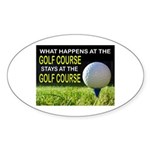 FORE Sticker (Oval 10 pk)