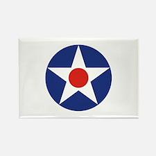 U.S. Star Rectangle Magnet