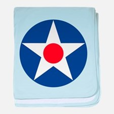 U.S. Star baby blanket