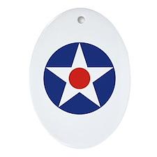 U.S. Star Ornament (Oval)
