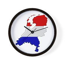 """Pixel Netherlands"" Wall Clock"