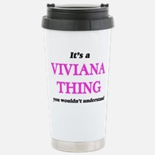 It's a Viviana thin Travel Mug