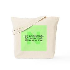 N is Weird! Tote Bag