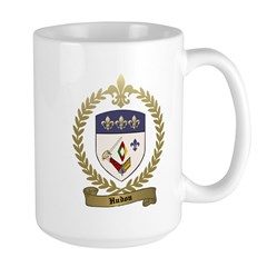 HUDON Family Crest Large Mug
