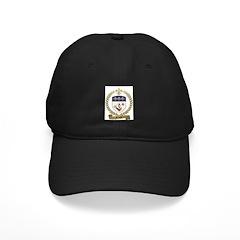 HUDON Family Crest Black Cap