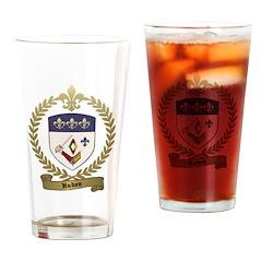 HUDON Family Crest Drinking Glass