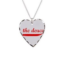 The Deuce!!! Necklace Heart Charm
