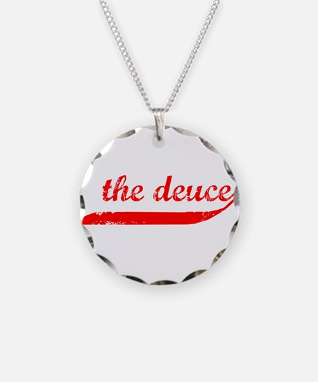 The Deuce!!! Necklace Circle Charm