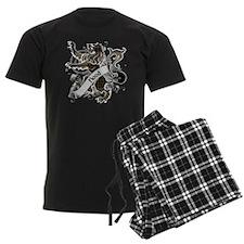 Hood Tartan Lion Pajamas