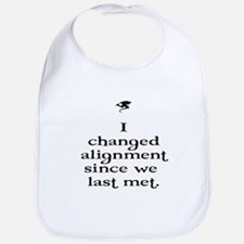 I changed alignment since we Bib
